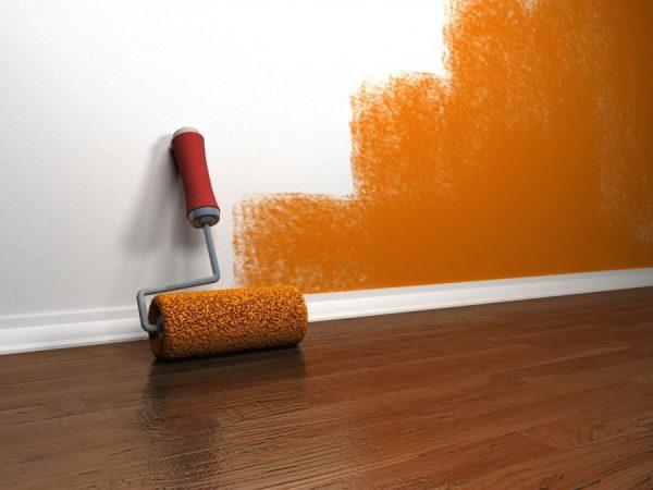 Водоэмульсионная краска: 160 фото использования краски. Особенности нанесения и удаления водоэмульсионки