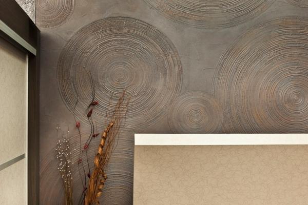 Декоративная краска для стен: особые эффекты и правила применения в современном интерьере (105 фото)