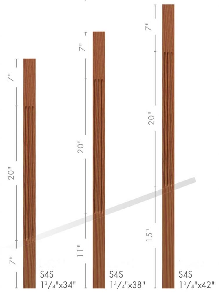 Купить деревянные балясины для лестниц в Украине