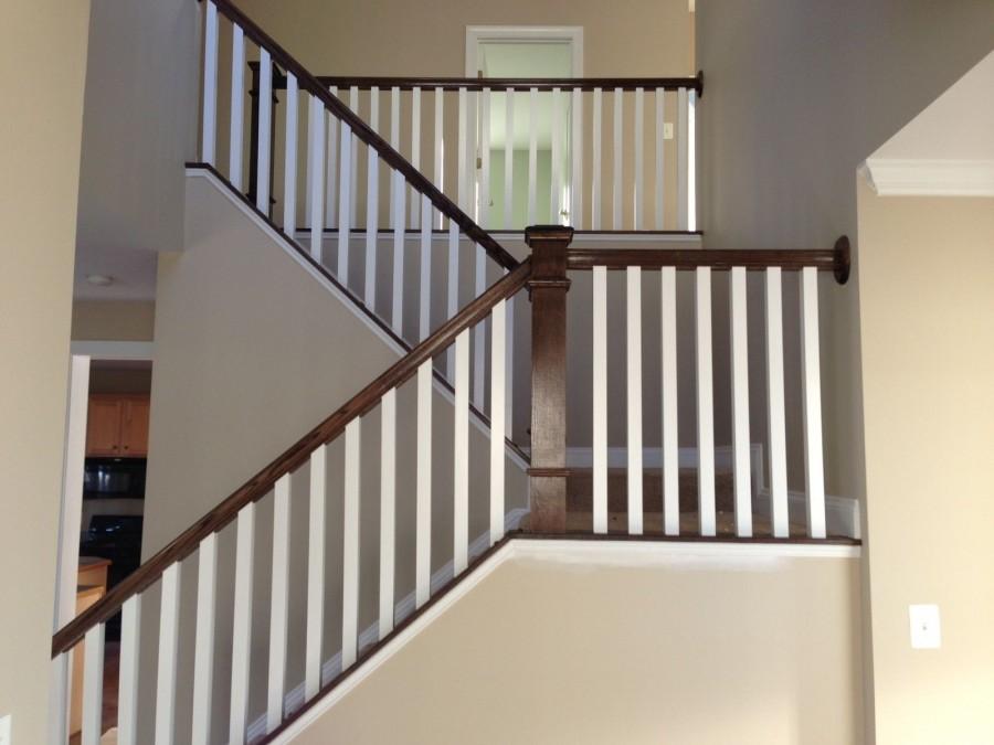 Дубовые ступени, буковые ступени, лестницы с забежными