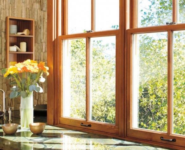 Деревянные окна – сравнение основных типов, подбор под архитектуру и дизайн дома (95 фото)