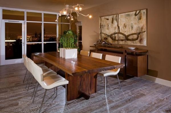 Деревянный стол: 125 фото обеденных, разборных и журнальных столиков