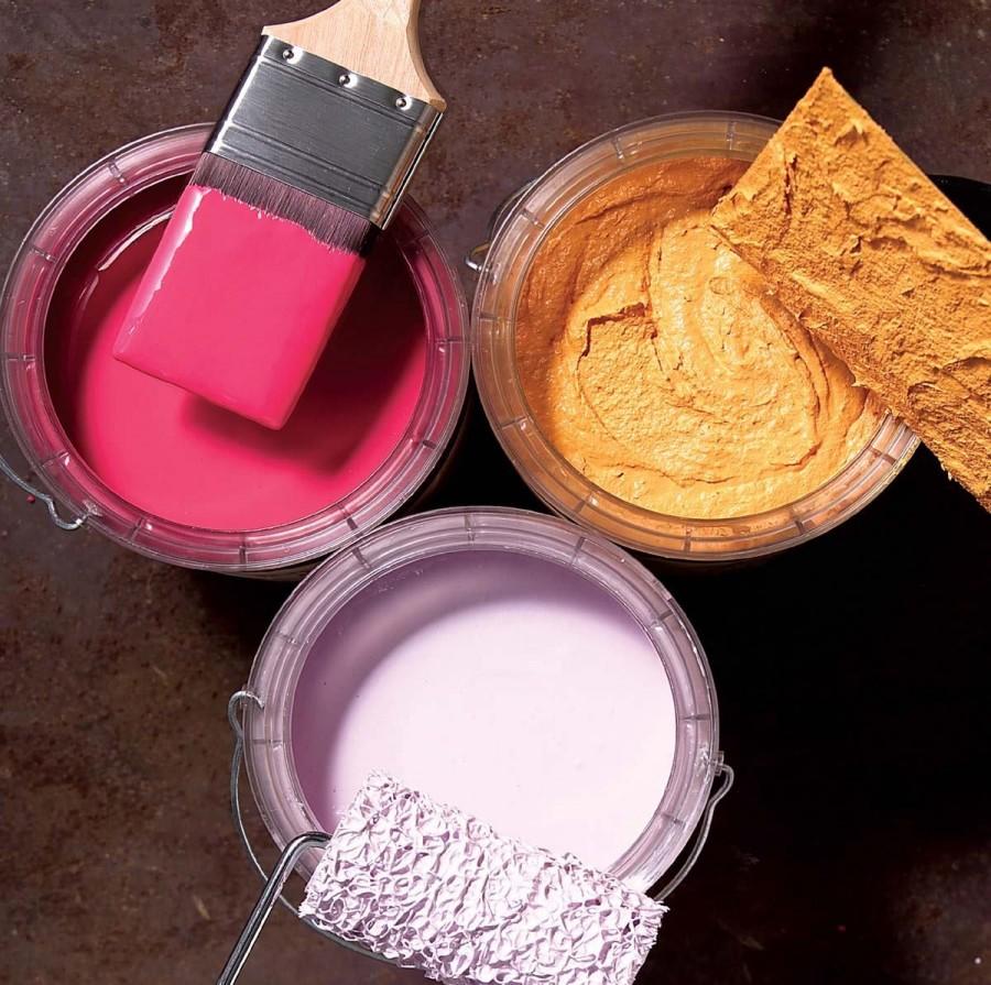 Краски водно дисперсионные для внутренних работ