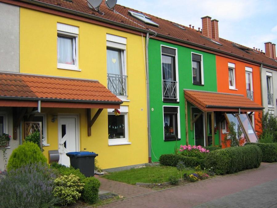 Виды и фото красок для дома может