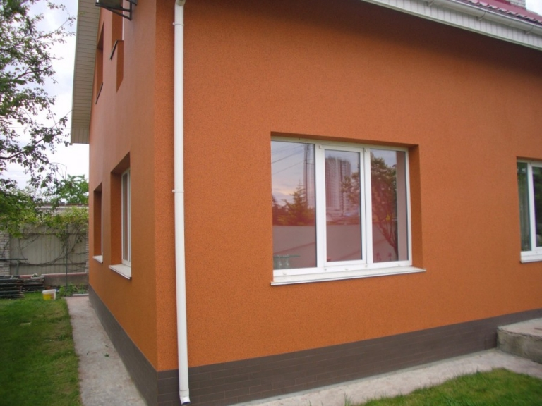 некоторых оранжевые дома оштукатуренные фото сами они называют