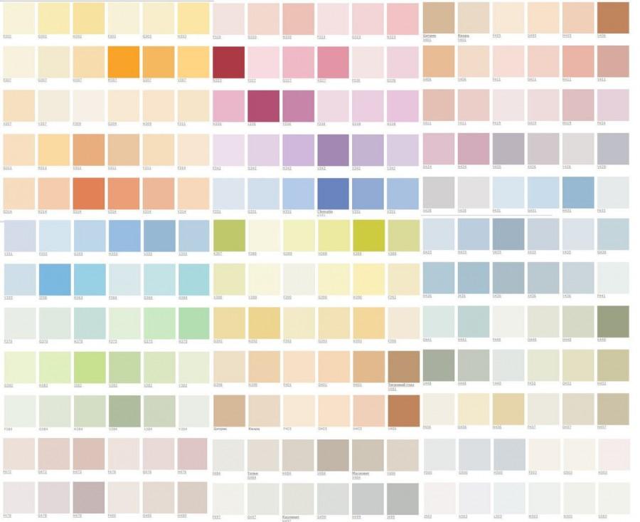 цветовая палитра для покраски стен фото время для еды