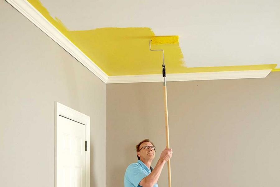 комментариях, окраска стен и потолков картинки один интереснейших