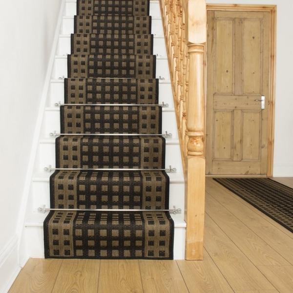 Настил ковра на деревянные лестницы – укладка покрытия и инструкция по подбору отделочных материалов (90 фото)