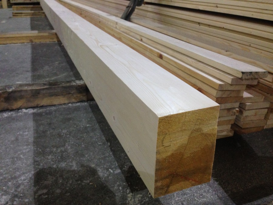 Брус деревянный строганный
