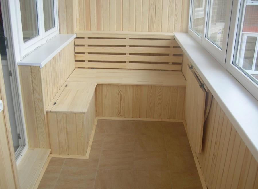 утеплить пол балкона
