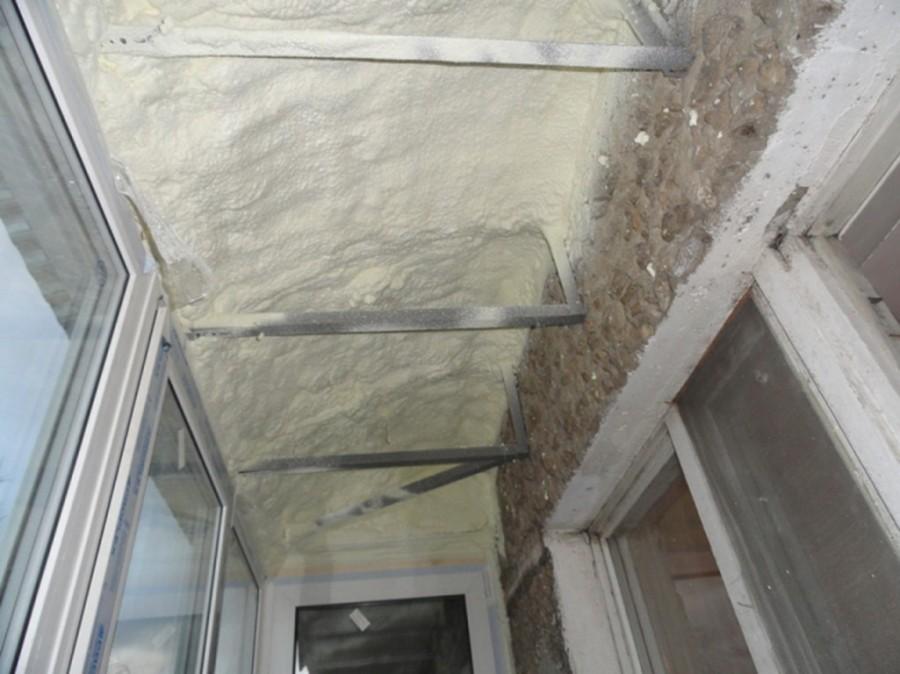 утеплить балкон пошаговое фото