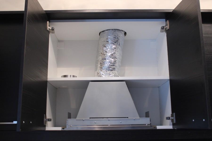 Шкаф для встроенной вытяжки своими руками 692