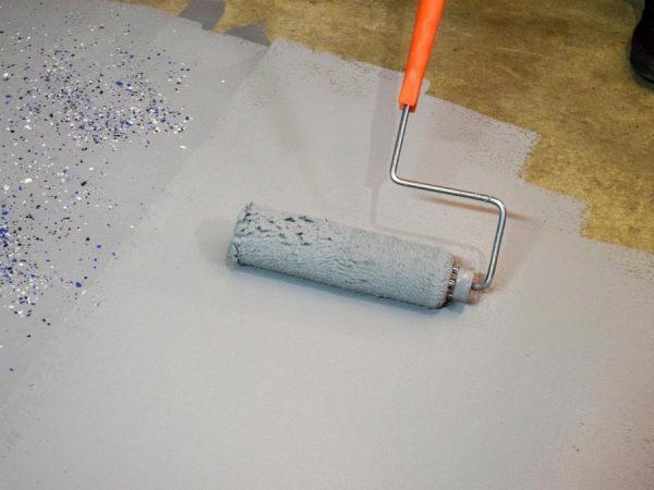 Эпоксидная краска – сфера применения и нанесение состава в качестве напольного покрытия (85 фото)