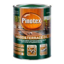 Масло PINOTEX Wood & Terrace Oil для садовой мебели