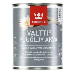 Валтти Аква - Водоразбавляемое масло для защиты деревянных наружных поверхностей, в том числе садовой мебели, террас и причалов.