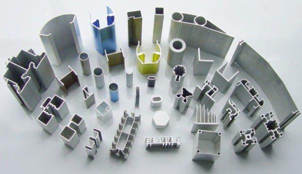 Алюминиевый профиль для машиностроения