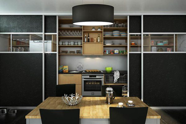 Шкаф-купе для кухни: что нужно учесть при выборе?