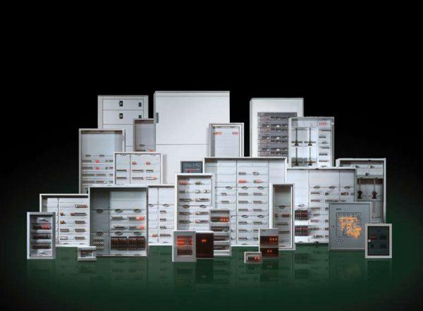 Электро шкафы навесные, пусковые сборки, коммутационная аппаратура.