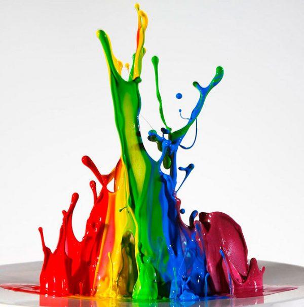 Краски промышленные: виды и характеристики.