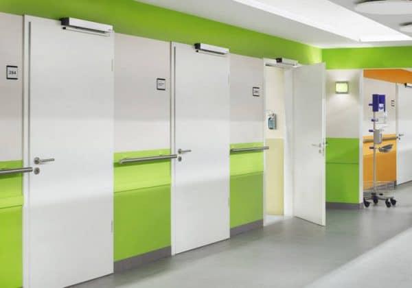Стальные двери и дверные коробки в промышленности и быту.