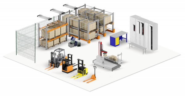 Удобное и надежное складское оборудование для оптимизации и ускорения рабочих процессов