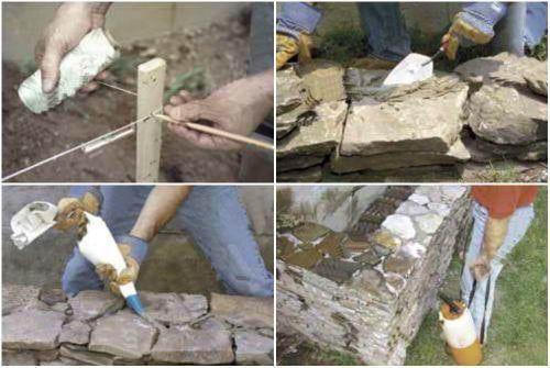 Цементный раствор для клумбы из камней мкр бетон