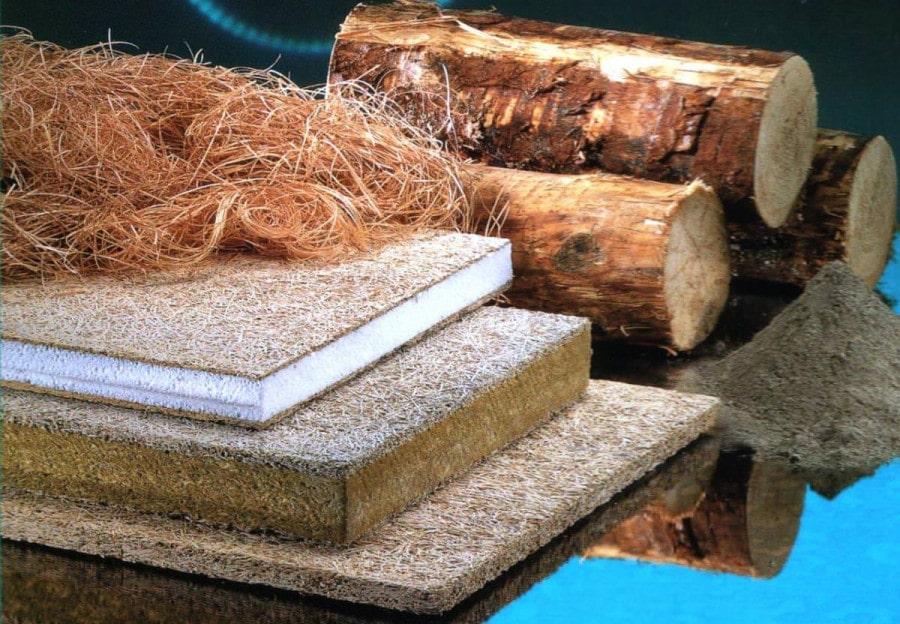 вспененная древесина