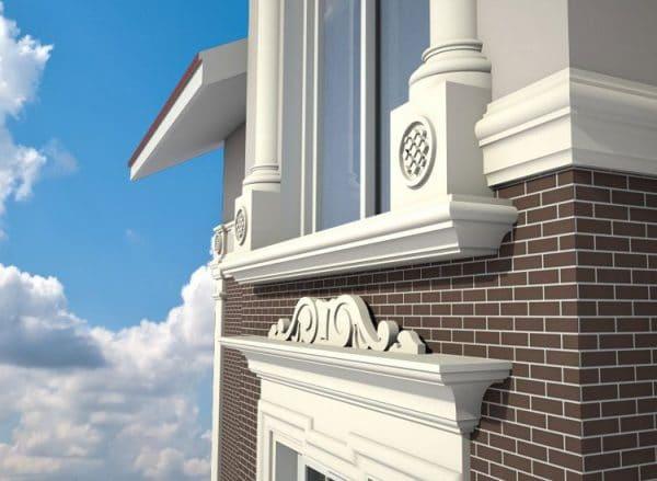 фасадный декор для наружной отделки дома