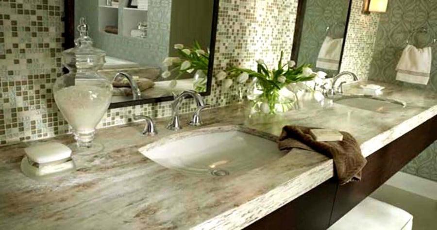 столешница для ванны +из искусственного камня