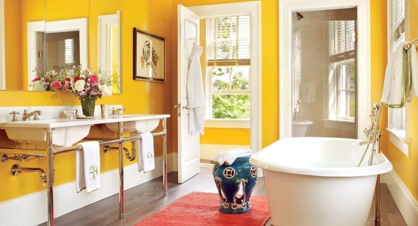 Краска тиккурила для ванной комнаты