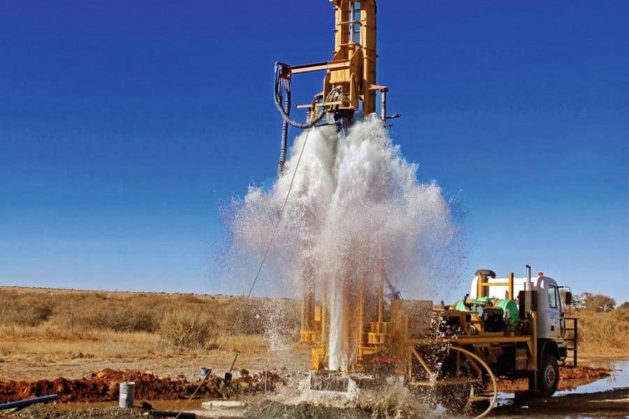 Бурение промышленных скважин на воду