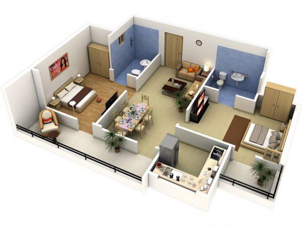 Как сделать дизайн-проект комнаты в программе – Дизайн Интерьера 3D