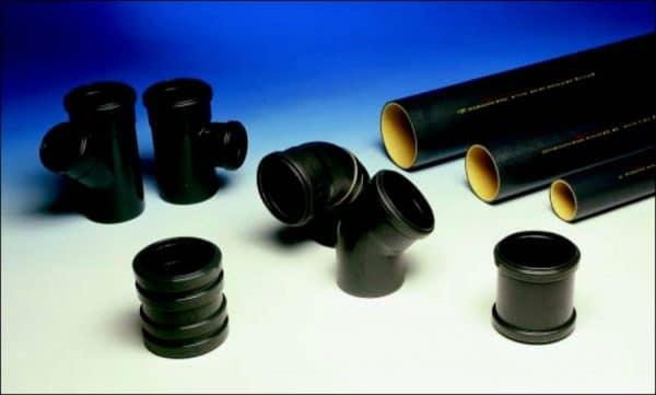 Трубы ПВХ напорные для канализации