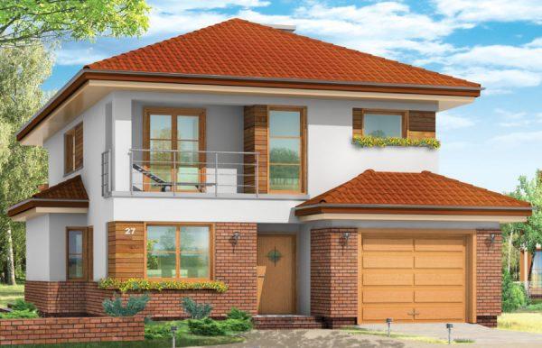 Проекты домов из кирпича до 200 кв. м для постоянного жилья