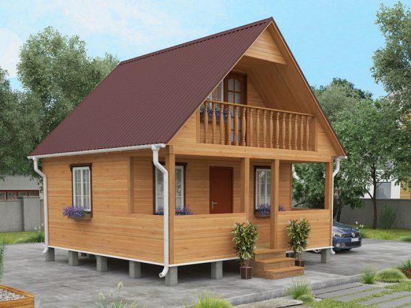Как построить недорогой дачный дом