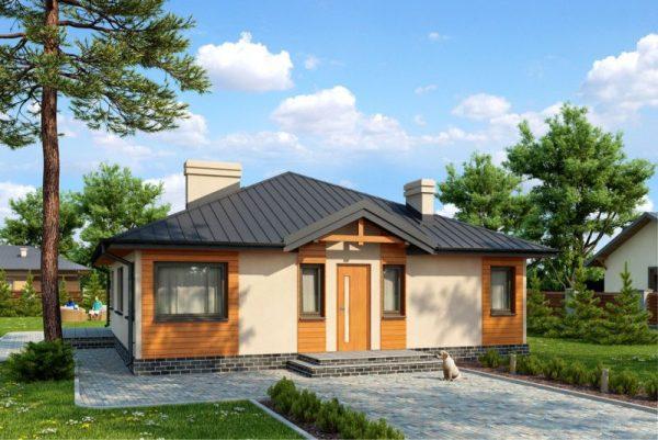 Проекты одноэтажных домов и коттеджей бесплатно