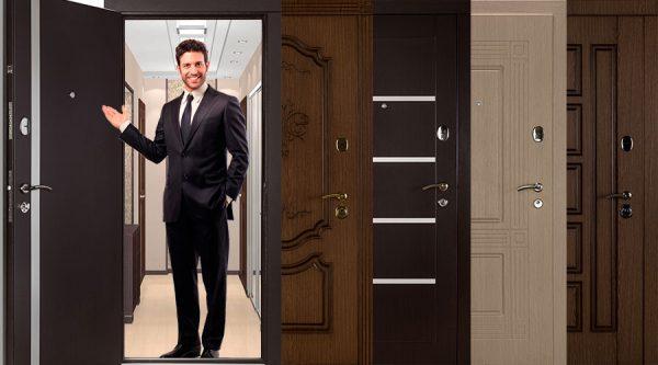 Как выбрать входные металлические двери в квартиру