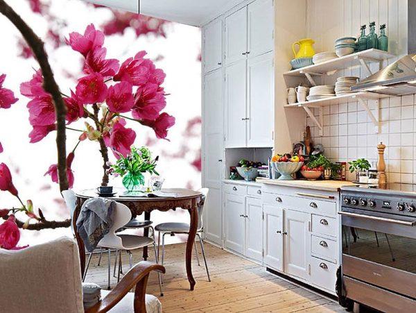 3d обои для стен кухни — как выбрать и где купить
