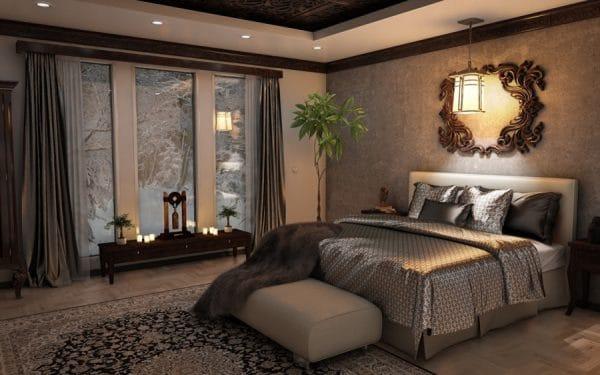 Организация освещения в спальне: основные нюансы