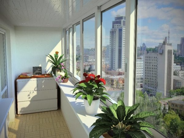Как правильно подобрать шторы на балкон с раздвижными окнами