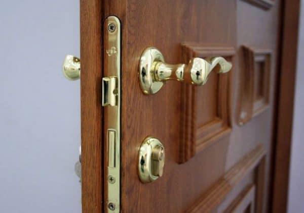 Особенности установки входных ламинированных дверей